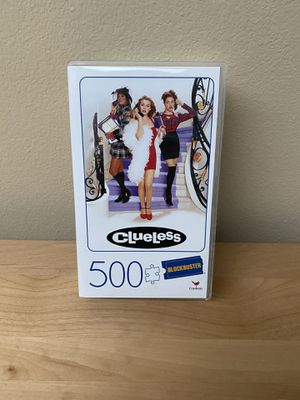 500 Piece CLUELESS Blockbuster Movie Lovers Puzzle - Cardinal Games Puzzle for Sale in Bothell, WA