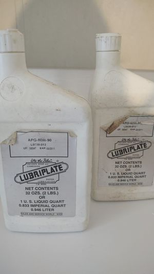 LUBRIPLATE - AIR TOOL LUBRICANT for Sale in Charlotte, NC