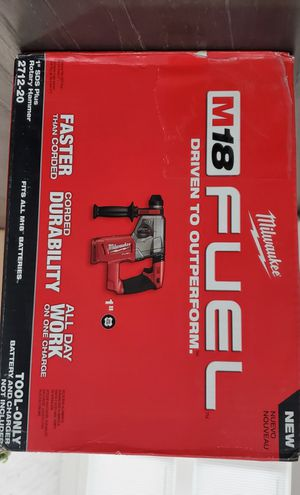 Milwaukee M18 1 Inch SDS Plus Rotary Hammer TOOL ONLY for Sale in Riverside, IL