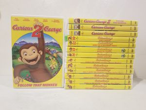 Curious George DVDs and CD for Sale in ROWLAND HGHTS, CA