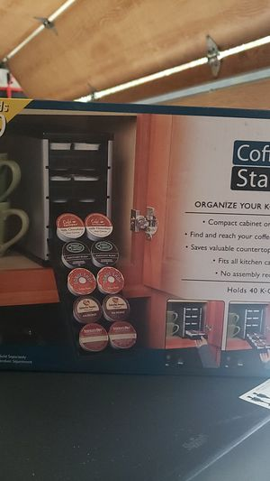 COFFEE STACK k-cup organizer NEW IN BOX for Sale in Jacksonville, FL