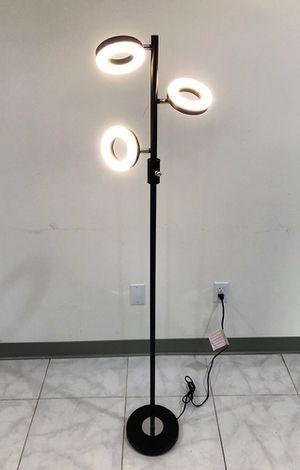 New $30 LED 3-Light Floor Lamp 5ft Tall Adjustable Tilt Lighting Fixture Home Decor Office for Sale in South El Monte, CA
