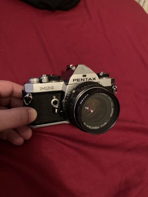 Pentax MX 35mm Film Camera with SMC Pentax M 50mm f/2 Lens for Sale in Queens, NY