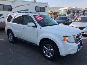 2011 Ford Escape Limited for Sale in Santa Ana, CA