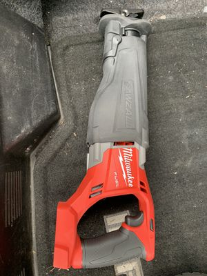 brand New Milwaukee fuel brushless sawzall (tool only) for Sale in Johnston, RI