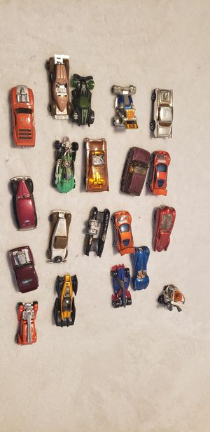 Hot wheels collection lot mixed toy cars for Sale in Moreno Valley, CA