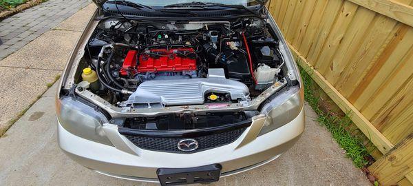 Mazda protege 2003
