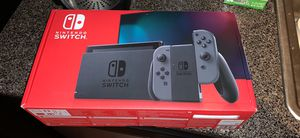 New Mint in Box Nintendo Switch Gray for Sale in Beverly, MA