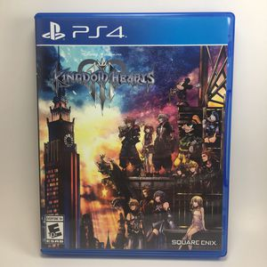 Kingdom Hearts III PlayStation 4 KH3 for Sale in Bakersfield, CA