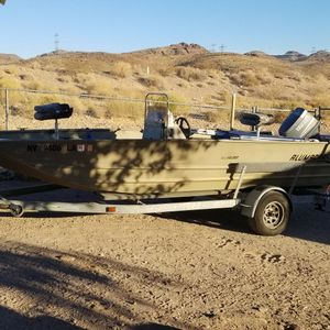 2002 20' ALUMACRAFT CENTER CONSOLE BOAT for Sale in Henderson, NV