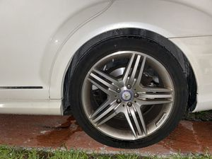 """Rims and tires AMG 19"""" mercedes Benz for Sale in Miami, FL"""