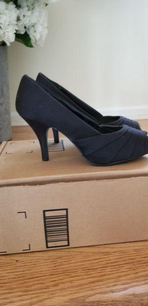 Black Satin Heels for Sale in Portsmouth, VA