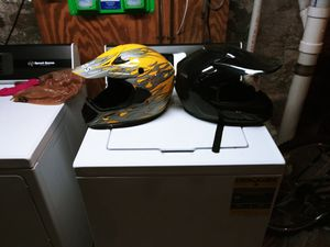 The yellow Tms- medium. Black one is Arctic cat medium for Sale in Milford, MA