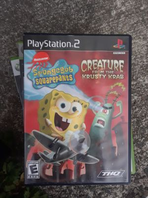 PS2 SpongeBob SquarePants video game for Sale in Bothell, WA