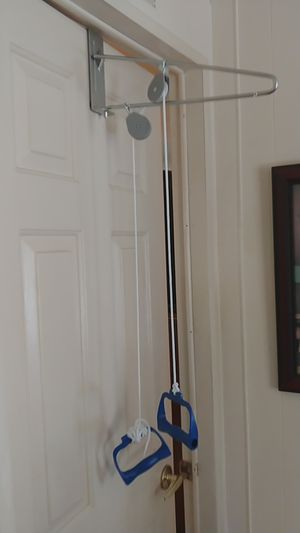 Exercise pulley used twice still have box for Sale in Fort Pierce, FL