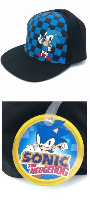 NEW! Youth Sonic the Hedgehog snapback adjustable hat kid's baseball cap video game cartoon anime characters Sega for Sale in Carson, CA