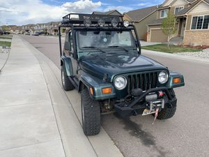 1999 Jeep Wrangler Sahara for Sale in Colorado Springs, CO