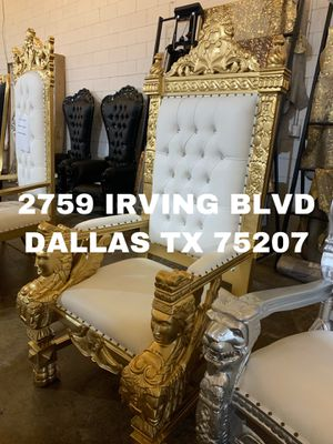 Throne chair for Sale in Richardson, TX
