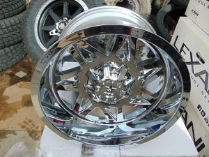 Brand New Chrome 20X12 RBP Avenger Rims *6X5.5 & 6X135* *-44MM Offset* for Sale in Aurora, CO