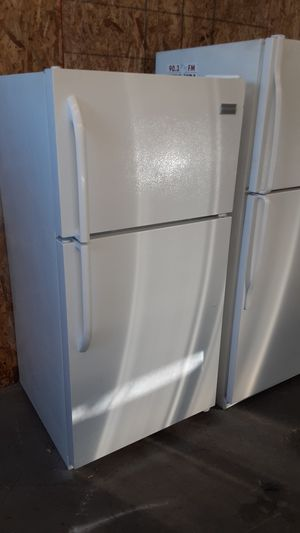 $199 Frigidaire white 14 cubic fridge includes delivery in the San Fernando Valley a warranty and installation for Sale in Los Angeles, CA