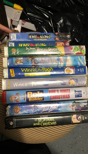 Christmas vhs movies for Sale in Davenport, FL
