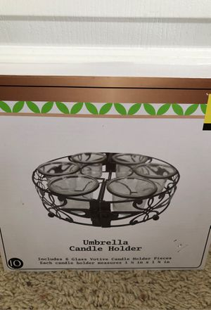 Umbrella Candle Holder for Sale in Katy, TX