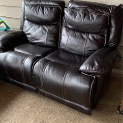 Reclining couches loveseat And A Big one Manual for Sale in Tigard,  OR