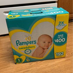 Pamper Swaddlers Size 1 192 Count for Sale in High Point,  NC