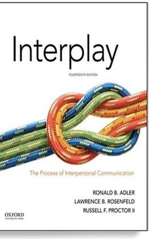 Interpersonal communication fourteenth edition for Sale in Phelan, CA