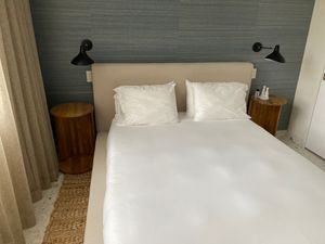 Queen Sized Brand New Bed and Mattress and End Tables for Sale in Miami Beach, FL