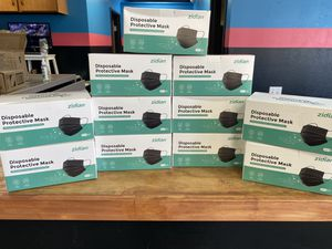 50 Pack 3PLY Black Face Mask for Sale in Rowland Heights, CA