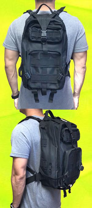NEW! Military tactical style Backpack camping fishing hunting hiking luggage travel shoulder bag school book bag work bag Gym bag for Sale in Carson, CA