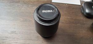 Sigma 55-200mm f /4-5.6 dc Nikon Lense for Sale in Buena Park, CA