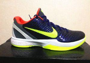 Nike zoom Kobe VI 6 supreme chaos joker 10/11.5 for Sale in Westland, MI