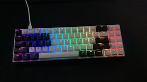 60% RGB Gaming Mechanical Keyboard w/ Brown Switches for Sale in Anaheim, CA
