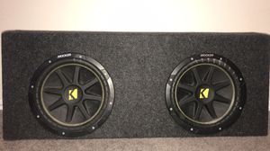 "10"" kickers and 1000 watt Sony amp for Sale in Tampa, FL"