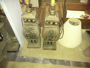 Vintage lamps for Sale in Granite City, IL
