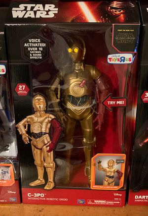 Toys r Us Star Wars Animatronic interactive figures for Sale in San Jose, CA