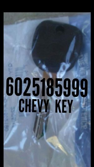 Chevy/ new key/ cerrajero for Sale in Phoenix, AZ