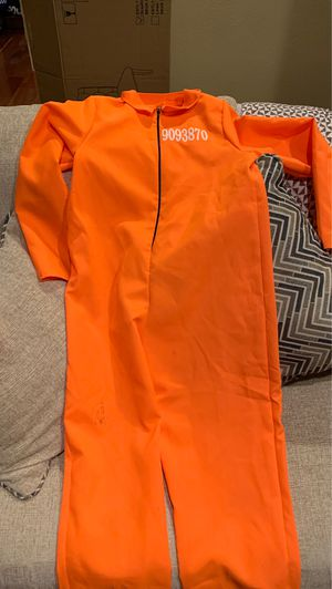 Prisoner Kids Halloween Costume L 10-12 for Sale in Upland, CA