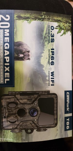 Campark wifi outdoor wildlife game camera for Sale in Chandler, AZ