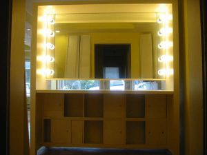 Glamorous Hollywood Style Custom Built Makeup Vanity for Sale in Auburn, WA
