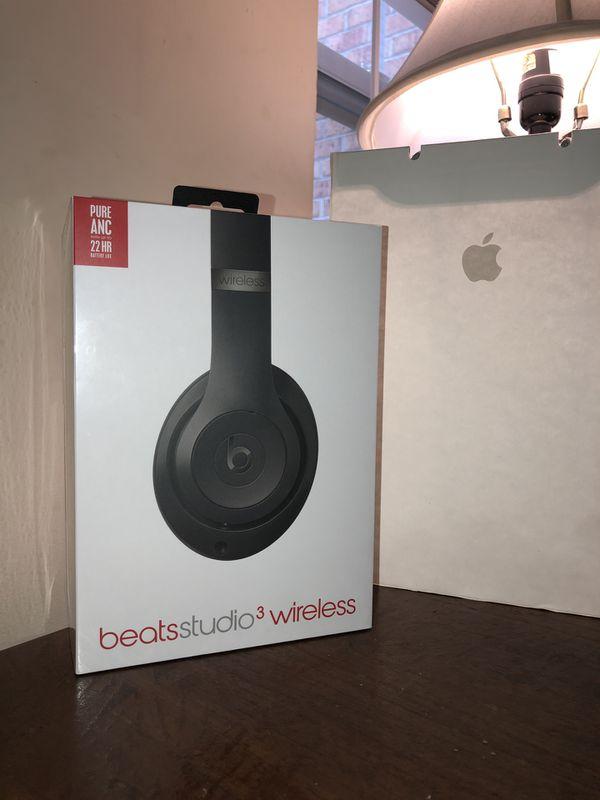 Beats Studio 3 Wireless- Matte Black