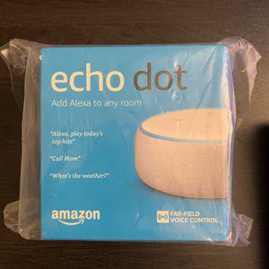 Amazon Echo Dot 3rd gen for Sale in San Diego, CA