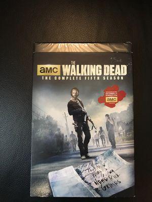 Walking Dead season 5 brand new for Sale in Wichita, KS