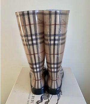 Burberry Women's Rainboots for Sale in Arlington, VA