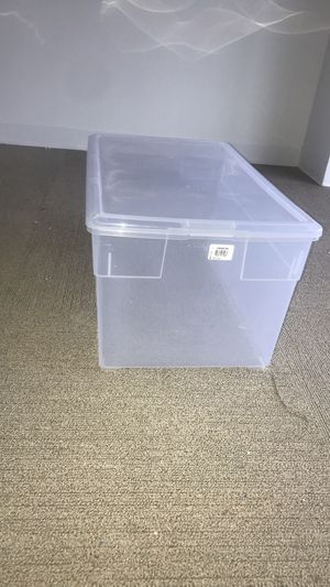 Storage bin $10 for Sale in New Haven, CT