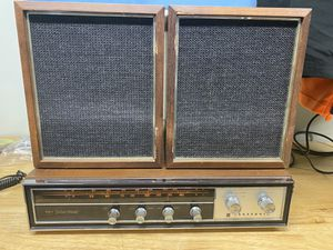Vintage Panasonic stereo system AM FM Record player input for Sale in Manhattan Beach, CA