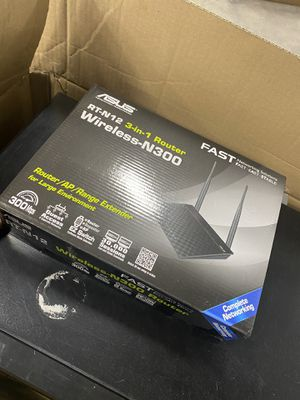 Brand new asus wifi router for Sale in Salt Lake City, UT