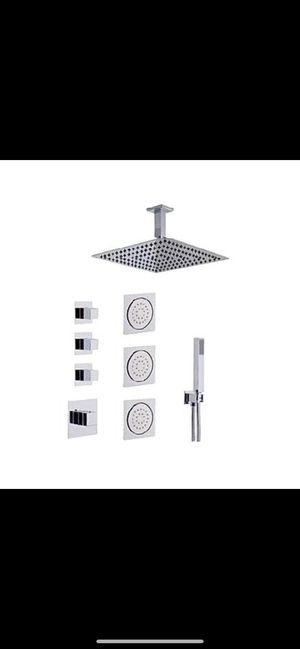 Shower Faucet with Hand Shower and Jet Set for Sale in Hialeah, FL